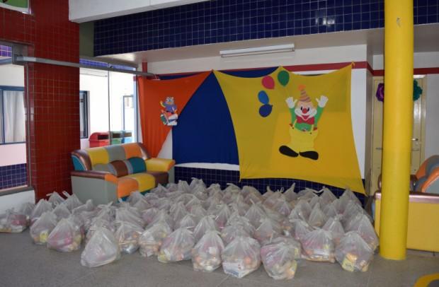 Foto de capa da notícia: Escolas de Nova Petrópolis entregam 18 toneladas de alimentos