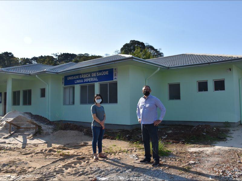 Foto de capa da notícia: Nova Petrópolis investe mais de R$ 1 milhão na estruturação de Unidades Básicas de Saúde