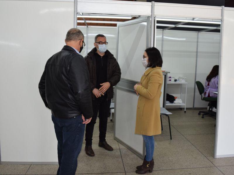 Foto de capa da notícia: Nova Petrópolis ativa Ambulatório de Campanha para testagens da Covid-19