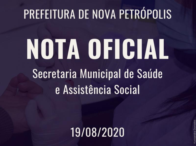 Foto de capa da notícia: NOTA OFICIAL - CRAS de Nova Petrópolis estará fechado de 19 a 27 de agosto