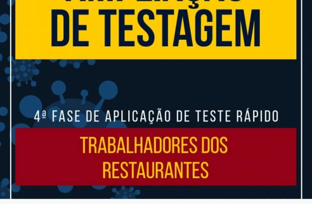 Foto de capa da notícia: Nova Petrópolis inicia 4ª etapa da ampliação de testagens nos serviços essenciais
