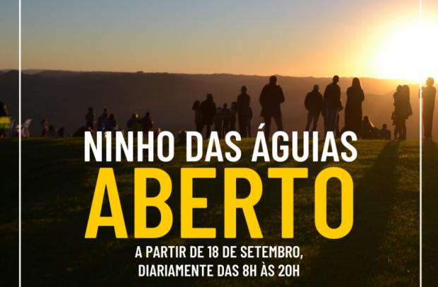 Foto de capa da notícia: Nova Petrópolis reabre os atrativos Ninho das Águias e Moinho Rasche