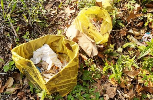 Foto de capa da notícia: Município identifica descarte irregular de resíduos na BR-116