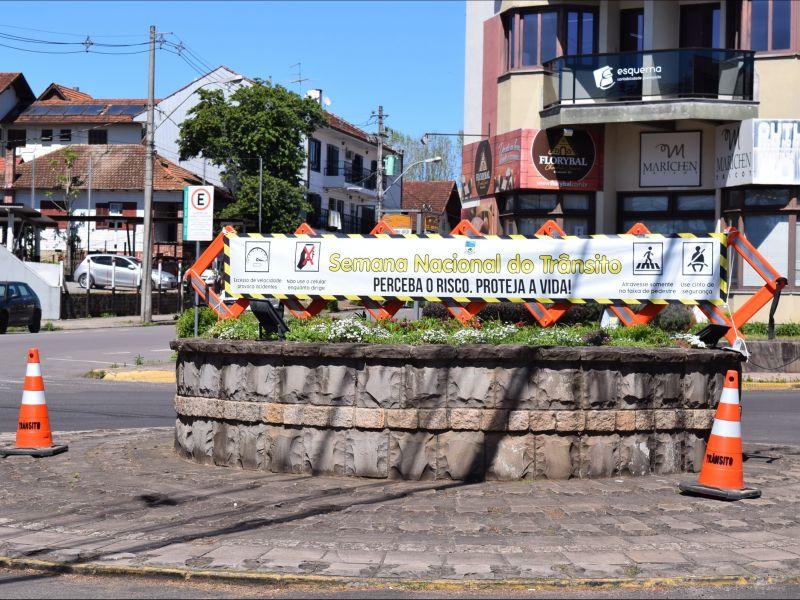 Foto de capa da notícia: Nova Petrópolis promove ações educativas na Semana Nacional do Trânsito