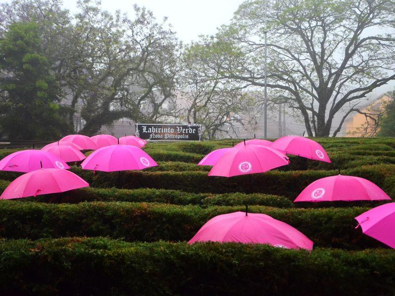 Foto de capa da notícia: Nova Petrópolis promove conscientização durante o Outubro Rosa