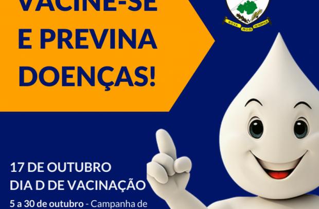 """Foto de capa da notícia: 17 de outubro é o Dia """"D"""" de Vacinação para crianças e adolescentes"""