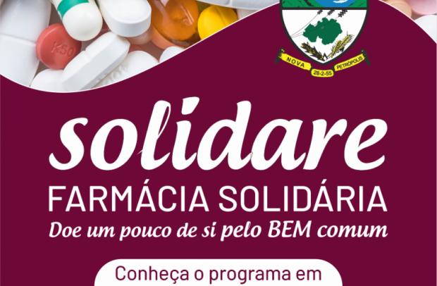 Foto de capa da notícia: Solidare - Farmácia Solidária inicia dispensação de medicamentos em Nova Petrópolis