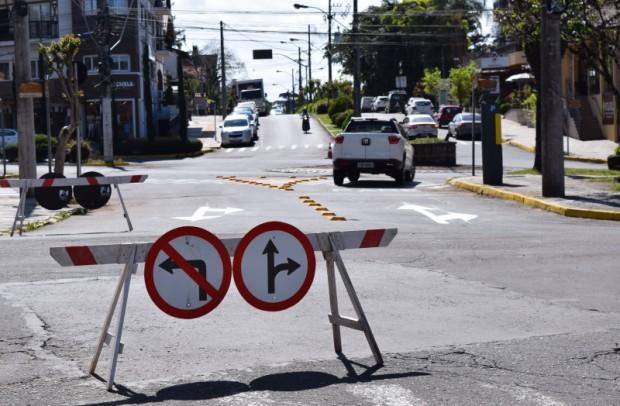Foto de capa da notícia: Secretaria de Planejamento inicia alterações no trânsito de Nova Petrópolis