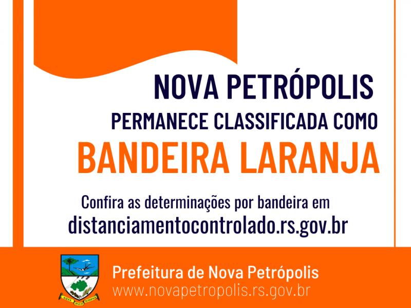 Foto de capa da notícia: Macrorregião Serra permanece na Bandeira Laranja