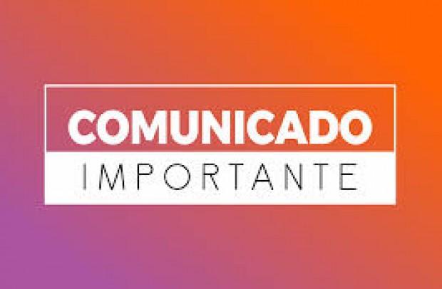 Foto de capa da notícia: 📢 AVISO DE UTILIDADE PÚBLICA 📢