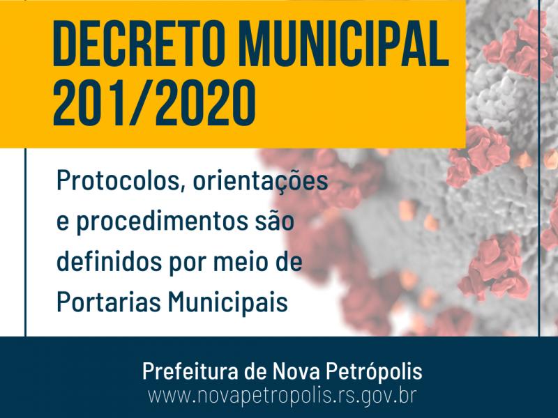 Foto de capa da notícia: Nova Petrópolis altera Decreto Municipal de enfrentamento à COVID-19