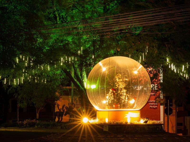 Foto de capa da notícia: Nova Petrópolis apresenta a magia dos Globos de Neve no Natal no Jardim da Serra Gaúcha 2020