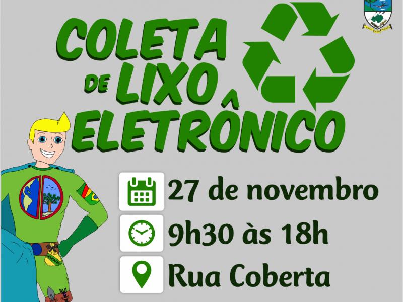 Foto de capa da notícia: Nova Petrópolis promove Coleta de Lixo Eletrônico dia 27 de novembro