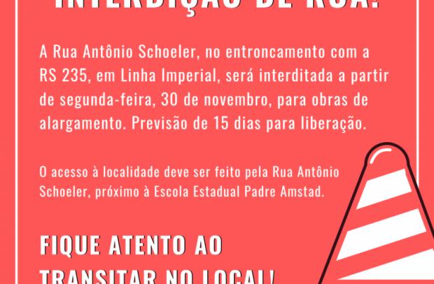 Foto de capa da notícia: ATENÇÃO MOTORISTA