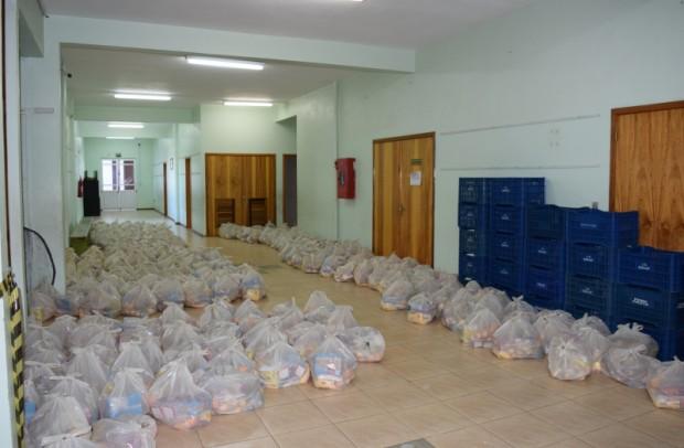 Foto de capa da notícia: Escolas de Nova Petrópolis entregam 90 toneladas de alimentos durante a pandemia