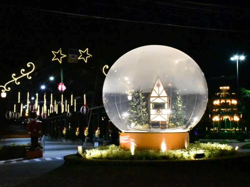 Foto de capa da notícia: Natal no Jardim da Serra Gaúcha terá programação virtual no dia 6 de dezembro
