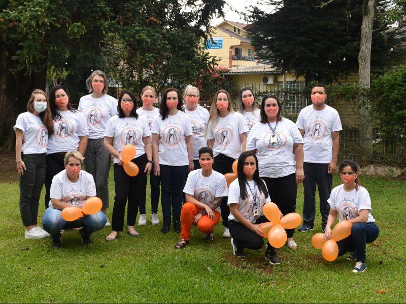 Foto de capa da notícia: Nova Petrópolis encerra campanha de ativismo pelo fim da violência contra a mulher