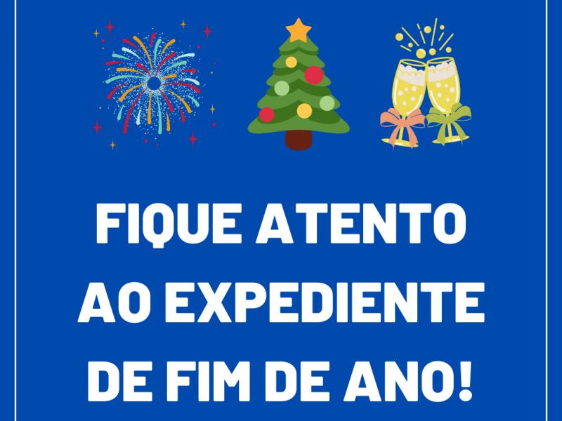 Foto de capa da notícia: Nova Petrópolis divulga horário de fim de ano nos órgãos públicos
