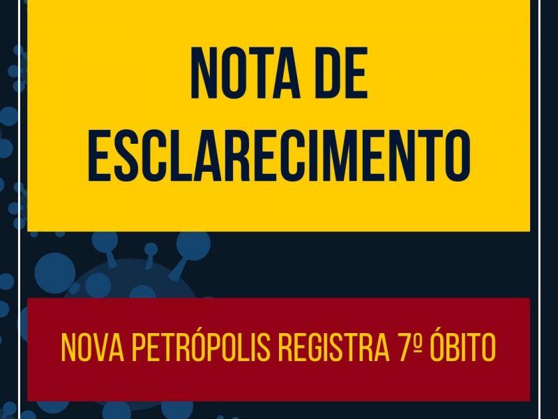 Foto de capa da notícia: Nova Petrópolis registra 7º óbito nesta quinta-feira