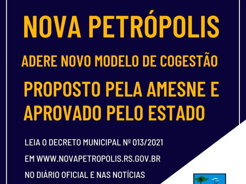 Foto de capa da notícia: Nova Petrópolis adere novo Modelo de Cogestão com protocolos mais flexíveis