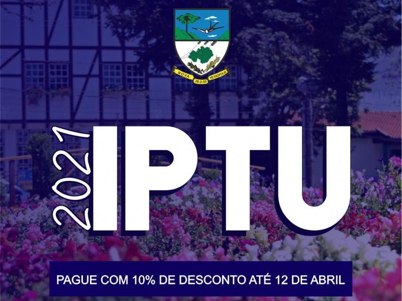 Foto de capa da notícia: Carnês do IPTU e ISSQN Fixo de 2021 estão disponíveis na internet para impressão