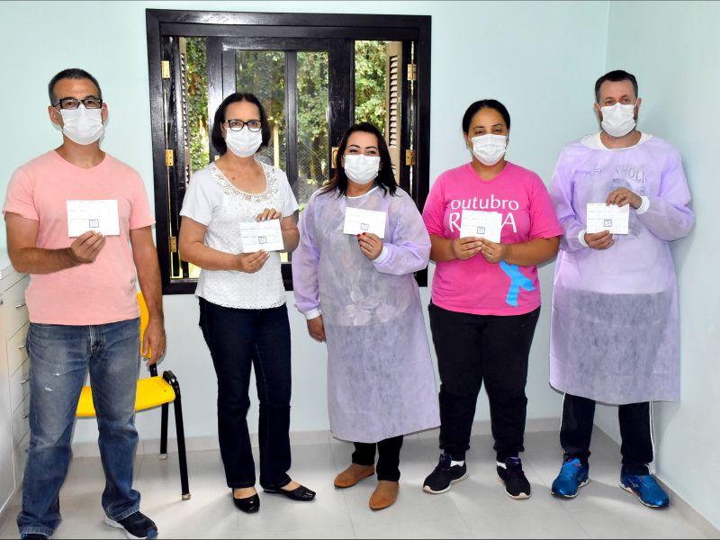 Foto de capa da notícia: Começa a vacinação contra a Covid-19 em Nova Petrópolis