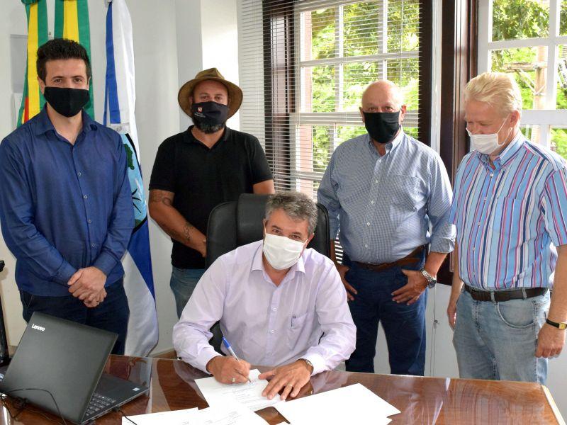 Foto de capa da notícia: Nova Petrópolis terá empreendimento turístico com avião da VARIG