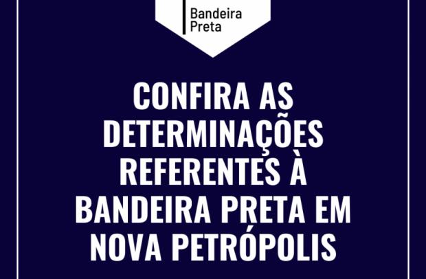 Foto de capa da notícia: Nova Petrópolis permanece em Bandeira Preta, mas atuará com protocolos do Modelo de Cogestão