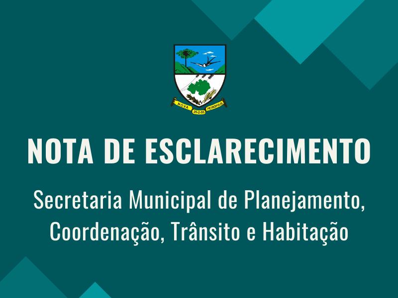 Foto de capa da notícia: Nota de esclarecimento sobre a situação do asfalto na Rua Tiradentes