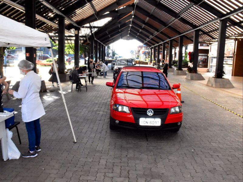 Foto de capa da notícia: Nova Petrópolis vacina idosos a partir dos 81 anos nesta sexta-feira