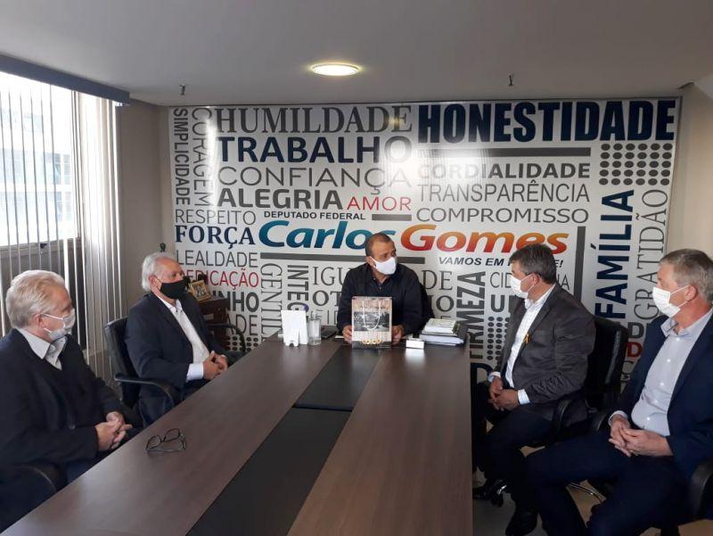 Foto de capa da notícia: Administração Municipal encaminha novas emendas parlamentares