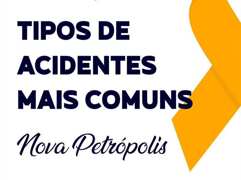 Foto de capa da notícia: Colisão entre veículos é o tipo de acidente mais comum em Nova Petrópolis