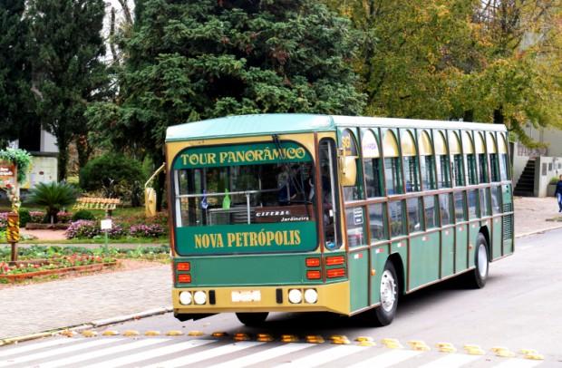Foto de capa da notícia: Tour Panorâmico é a novidade no turismo de Nova Petrópolis