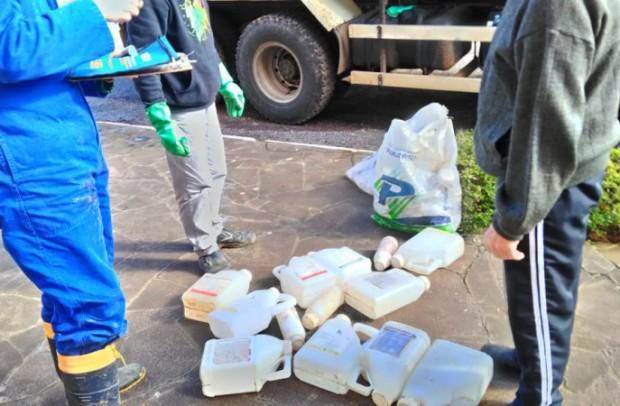 Foto de capa da notícia: Eu cuido Nova Petrópolis: recolhimento de embalagens de agrotóxicos acontece no dia 16 de junho