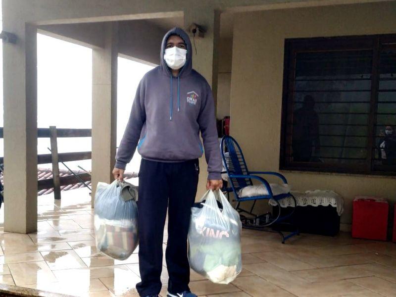 Foto de capa da notícia: Cras de Nova Petrópolis intensifica distribuição de agasalhos e cobertores