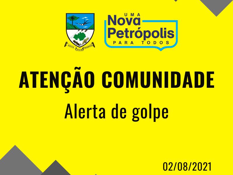 Foto de capa da notícia: Prefeitura de Nova Petrópolis alerta golpe envolvendo solicitações de códigos