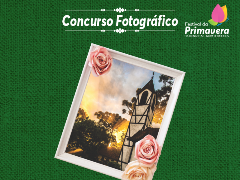Foto de capa da notícia: Concurso Fotográfico do Festival da Primavera abre votação popular e no Instagram para 20 fotos selecionadas