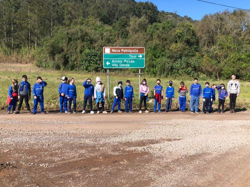 Foto de capa da notícia: Escola Pedro Beck Filho realiza projeto de proteção aos animais