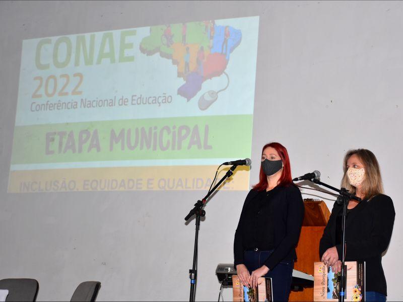 Foto de capa da notícia: Nova Petrópolis realiza a Conferência Municipal de Educação