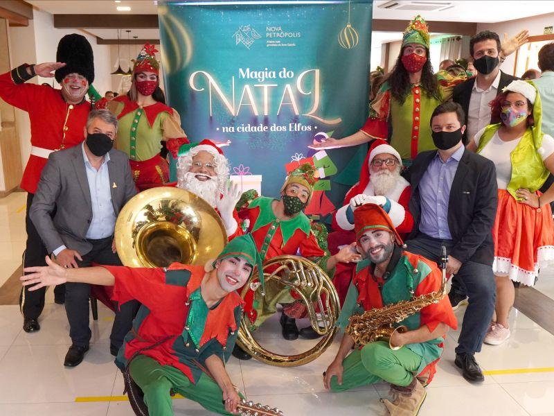 Foto de capa da notícia: Nova Petrópolis lança Magia do Natal na Cidade dos Elfos com mais de 170 atrações