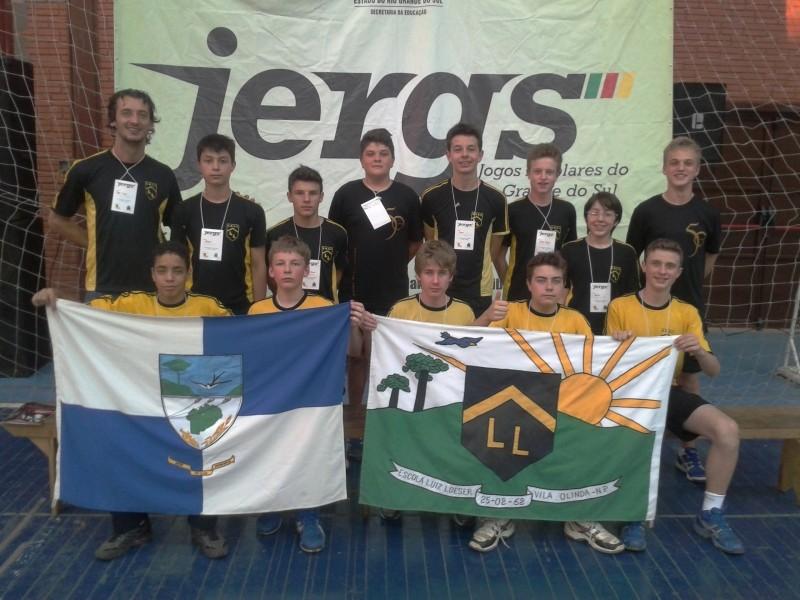 Foto de capa da notícia: Escola Luiz Loeser conquista 3º lugar nas finais do JERGS 2013