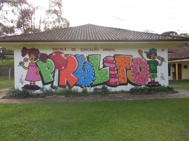 Foto de capa da notícia: Escola Pirulito tem nova fachada