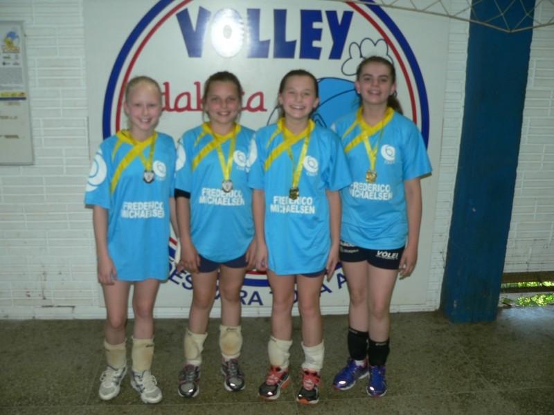 Foto de capa da notícia: Mini-voleibol foi destaque na Olimpíada Escolar