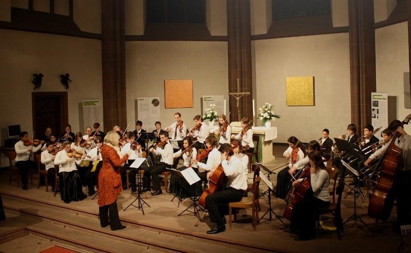 Foto de capa da notícia: Escola de Música de Frankfurt se apresenta em Nova Petrópolis