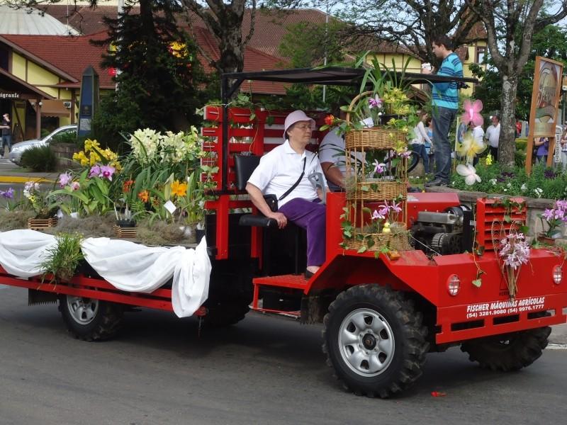 Foto de capa da notícia: Parada das Flores promete colorir Nova Petrópolis
