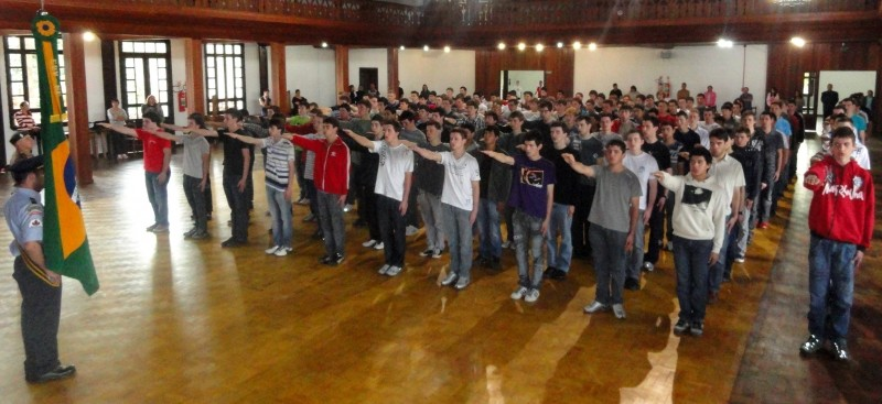 Foto de capa da notícia: Juramento à Bandeira será dia 28 de setembro