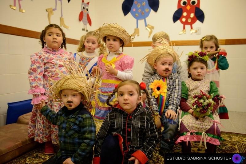 Foto de capa da notícia: Arraiá da Coruja anima Escola de Educação Infantil