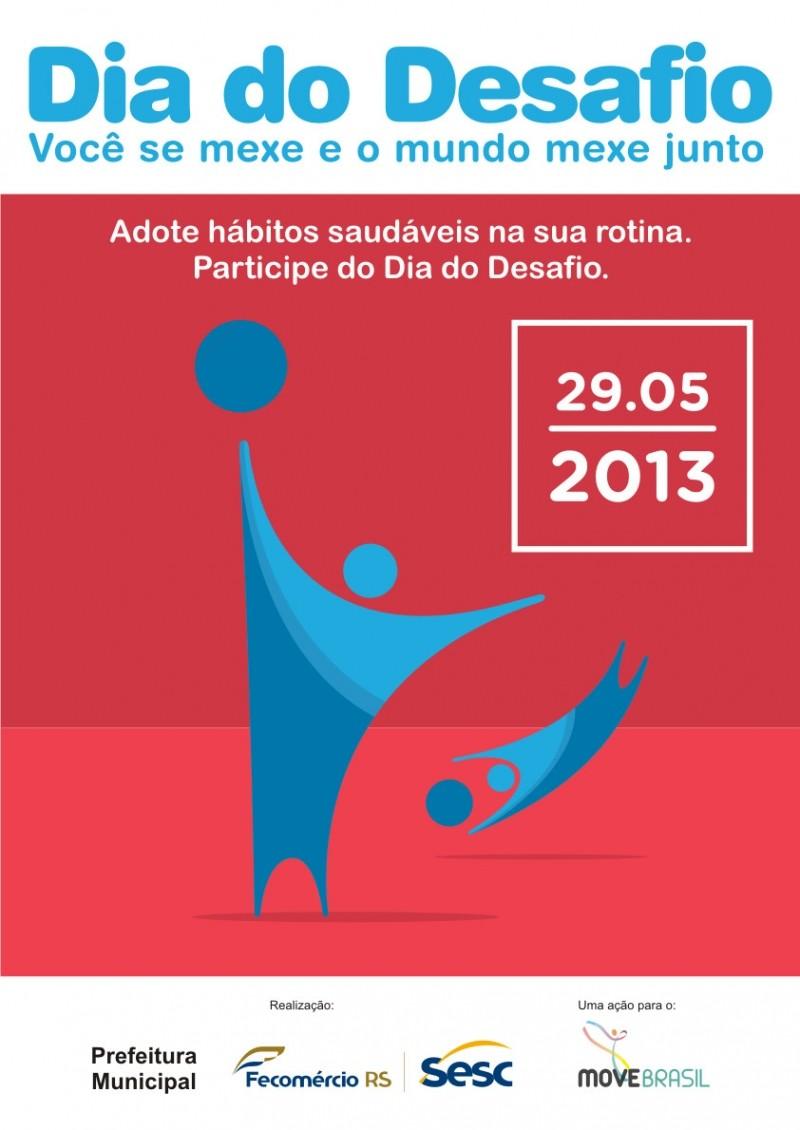 Foto de capa da notícia: Nova Petrópolis participa do Dia do Desafio