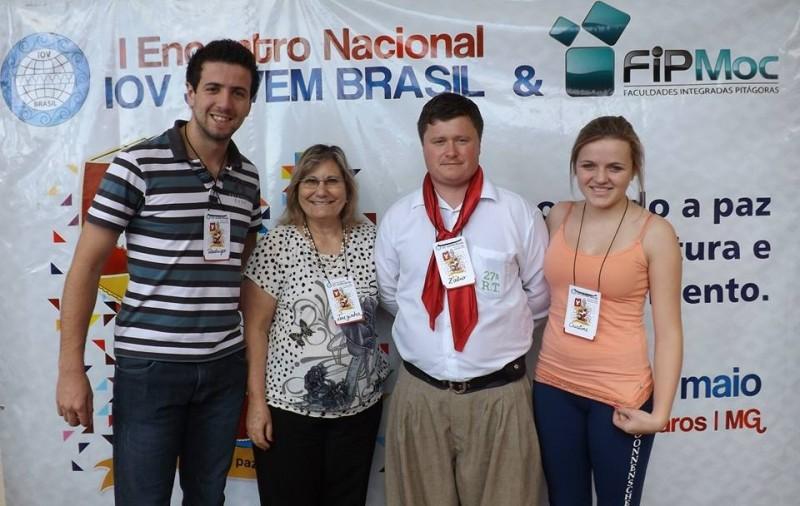 Foto de capa da notícia: Comitiva de Nova Petrópolis participa de evento cultural em Minas Gerais