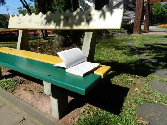 Foto de capa da notícia: Projeto Livro sem Dono distribui livros na Praça das Flores